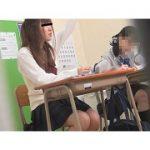 学習塾盗撮 ギリギリ間に合った!! 塾生徒のおしっこ3
